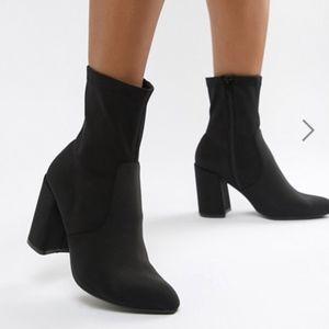 ASOS Emotion Sock Booties